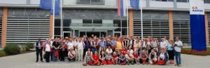Adria Club Danmark besøger Adria fabrikken i Novi Mestro 2012